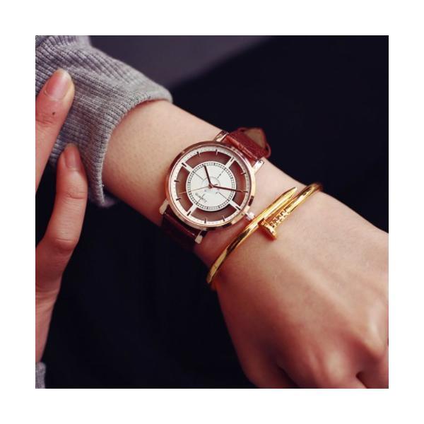 腕時計 レディース ウォッチ 時計 おしゃれ かわいい 人気 アクセサリー シースルー文字盤がおしゃれなレディースファッションウォッチ 腕時計|loveaccessories|03