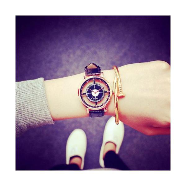 腕時計 レディース ウォッチ 時計 おしゃれ かわいい 人気 アクセサリー シースルー文字盤がおしゃれなレディースファッションウォッチ 腕時計|loveaccessories|04