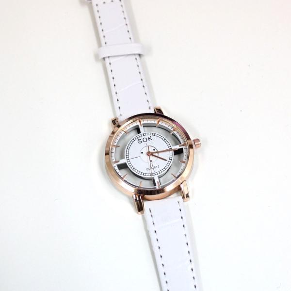 腕時計 レディース ウォッチ 時計 おしゃれ かわいい 人気 アクセサリー シースルー文字盤がおしゃれなレディースファッションウォッチ 腕時計|loveaccessories|05