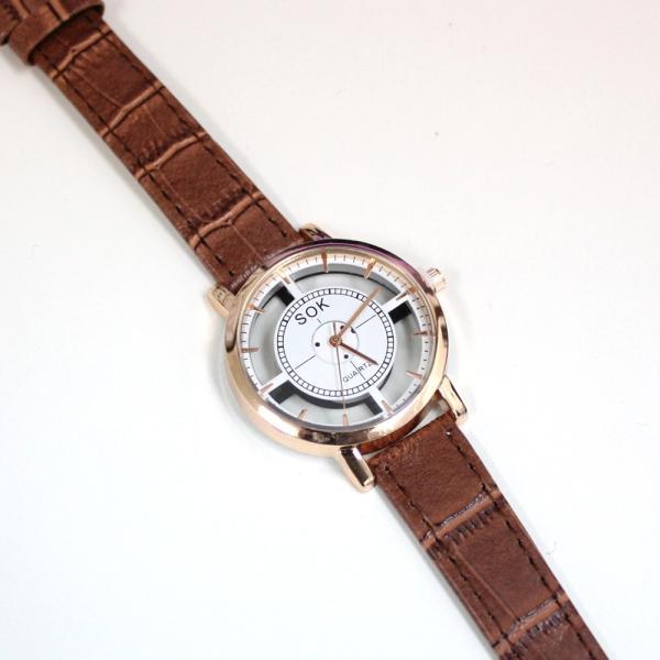 腕時計 レディース ウォッチ 時計 おしゃれ かわいい 人気 アクセサリー シースルー文字盤がおしゃれなレディースファッションウォッチ 腕時計|loveaccessories|06