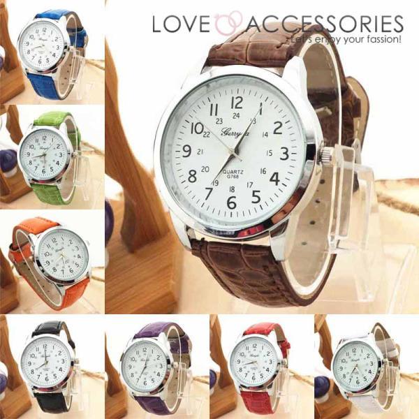 4f5107ea32 腕時計 レディース おしゃれ 時計 レディース かわいい 安い レトロ風インデックスがおしゃれなレディースファッションウォッチ 腕時計 ...