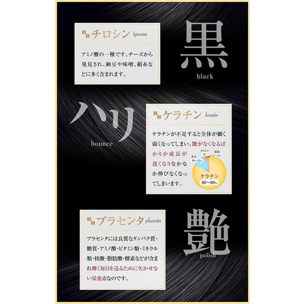 艶黒美人   黒・艶・ハリ成分ぎゅっと凝縮! 28日分 lovebugshop 02