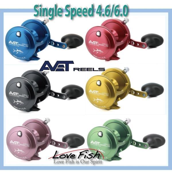 ジギングには2SPEED AVET REELS SXJ 6/4 MC LEVER DRAG 電磁ブレーキ搭載カモフラージュ