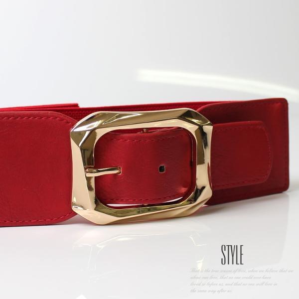 ベルト レディース 太 ベルト ゴム レディース ファッション ゴムベルト レディース パーティードレス 通販 2本セットで割引価格|lovegal|05
