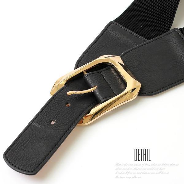 ベルト レディース 太 ベルト ゴム レディース ファッション ゴムベルト レディース パーティードレス 通販 2本セットで割引価格|lovegal|10