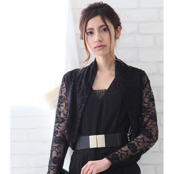 ゴムベルト 太 ベルトレディース フリーサイズ 白 黒 ウエストマーク レディースファッション パーティードレス通販クレア 2本セットで割引価格|lovegal|14
