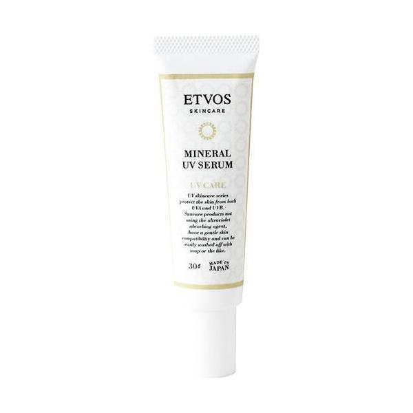 ETVOS(エトヴォス)日焼け止め美容液ミネラルUVセラムSPF35/PA30g化粧下地紫外線吸収剤不使用