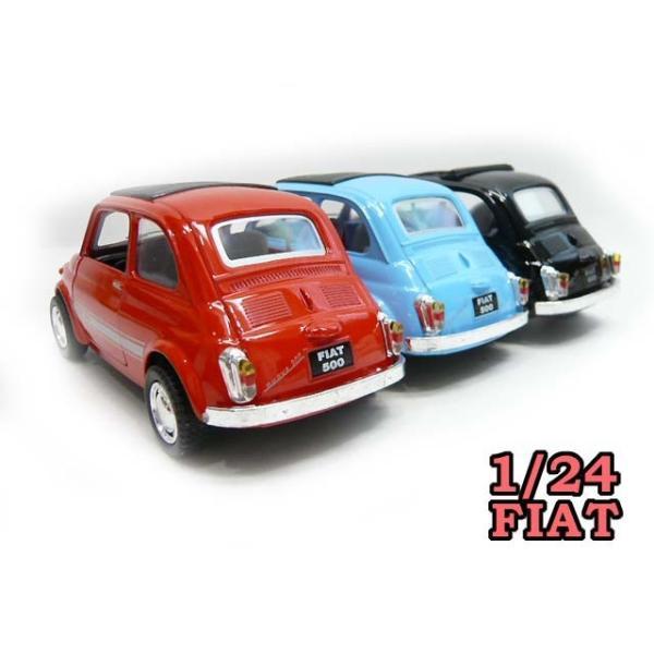 1/24 フィアット500 ミニカー FIAT 1台 ルパン愛用車|lovelybeetlegarage|02