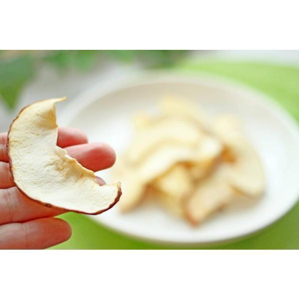 無添加 国産 犬 猫 おやつ 手作り リンゴチップス15g|lovelypet-oyatu|02