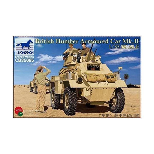 II BRONCO CB35085 1//35 Humber Armoured Car Mk