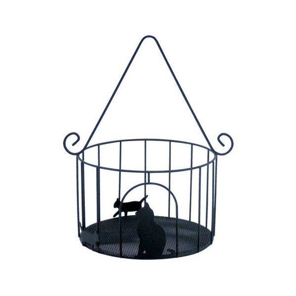 猫 小物入れ 猫のサークルバスケット  Abeille|lovexclp