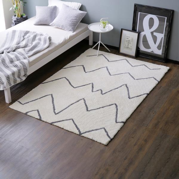 RoomClip商品情報 - ラグ S おしゃれ 130×190cm マット デザイン パイル パイル 絨毯 じゅうたん オールシーズン 長方形 ワンルーム あったか 冬