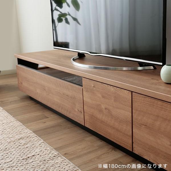 テレビ台 ローボード 完成品 200cm おしゃれ 収納 国産 日本製 シンプル テレビラック ロウヤ LOWYA|low-ya|17