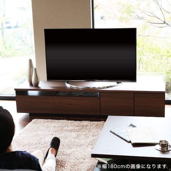 テレビ台 ローボード 完成品 200cm おしゃれ 収納 国産 日本製 シンプル テレビラック ロウヤ LOWYA|low-ya|19