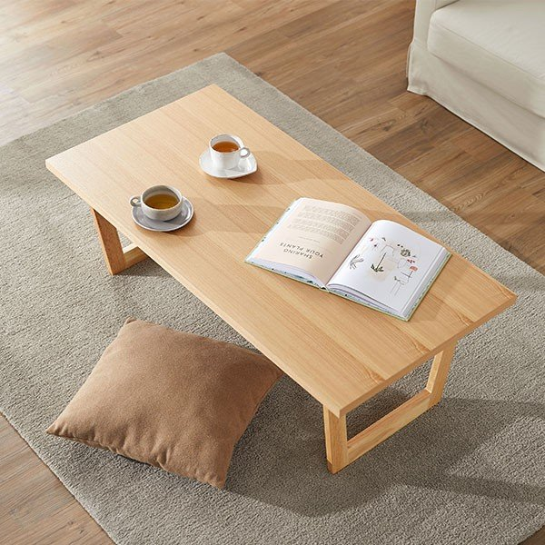 テーブル ローテーブル おしゃれ 木製 折りたたみ リビング センターテーブル ダイニング コーヒー 幅120x奥行60cm 北欧風 ロウヤ LOWYA low-ya 02