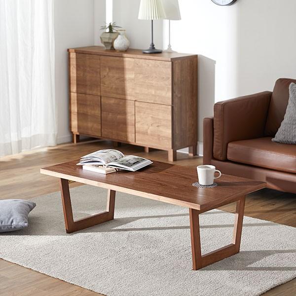 テーブル ローテーブル おしゃれ 木製 折りたたみ リビング センターテーブル ダイニング コーヒー 幅120x奥行60cm 北欧風 ロウヤ LOWYA low-ya 20
