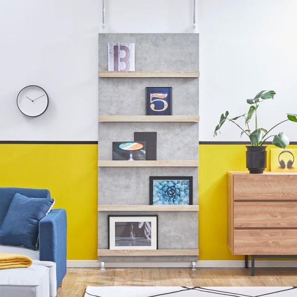 突っ張り ラック 壁面収納 収納ラック 棚 マガジンラック おしゃれ 本棚 収納 木製 壁面収納家具 ロウヤ LOWYA|low-ya|18