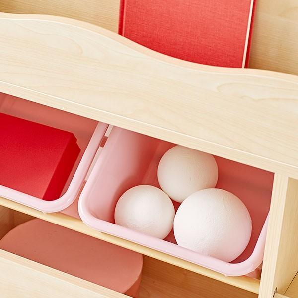 おもちゃ箱 絵本棚 収納 木製 ディスプレイ キッズ おしゃれ ラック ボックス トイ 子供 こども 本棚 シェルフ おもちゃ ワイド ロウヤ LOWYA low-ya 19