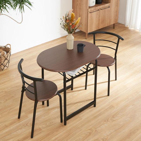ダイニングテーブルセット 3点 2人用 チェア 食卓 おしゃれ カフェ スタイル ロウヤ LOWYA|low-ya|18