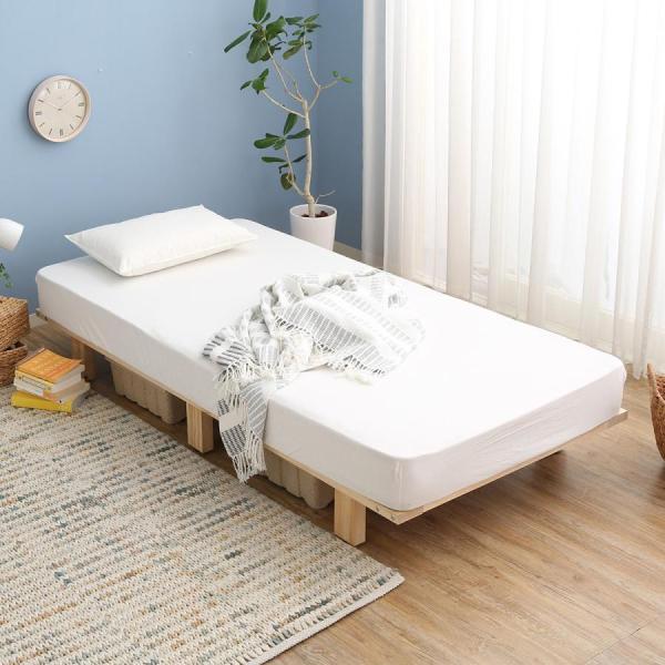 ベッド シングル フレームのみ すのこベッド 木製 ベット マットッレス対応 おしゃれ|low-ya