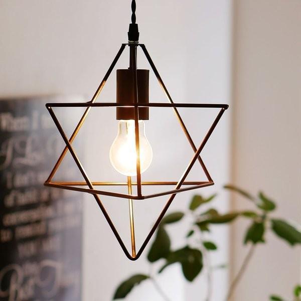 ペンダントライト 照明器具 照明 LED電球対応 照明 天井 天井照明 おしゃれ 間接照明 星型 スター デザイン照明 ヴィンテージ調 リビング ロウヤ LOWYA