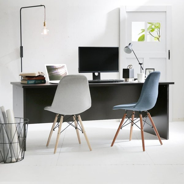 パソコンデスク 机 幅180cm ライティング オフィス PC おしゃれ 木製 事務机 ワーク 省スペース|low-ya