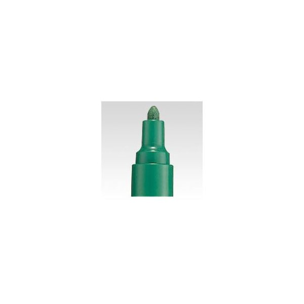 (まとめ) 三菱鉛筆 ペイントマーカー 中字(2.2-2.8mm) PX-20.6 緑 1本入 〔×10セット〕