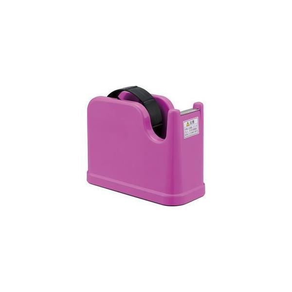 (まとめ) テープカッター ピンク NTC-201P 〔×10セット〕