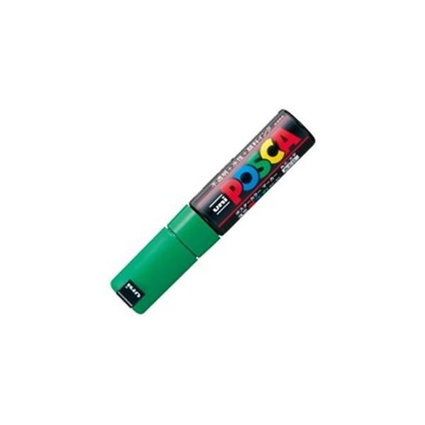 (業務用200セット) 三菱鉛筆 ポスカ/POP用マーカー 〔太字/緑〕 水性インク PC-8K.6