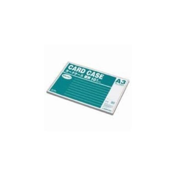 (業務用10セット) ジョインテックス 再生カードケース硬質A3*10枚 D061J-A3