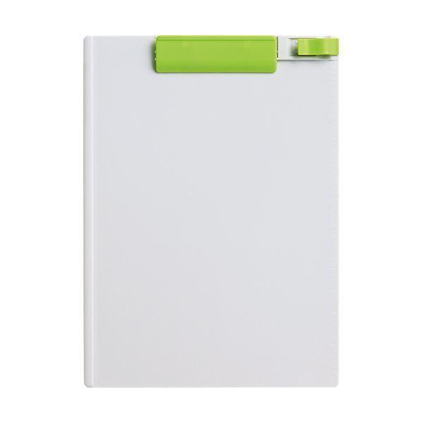 (まとめ) コクヨ クリップボード(K2) A4タテ黄緑 K2ヨハ-PS78YG 1枚 〔×30セット〕