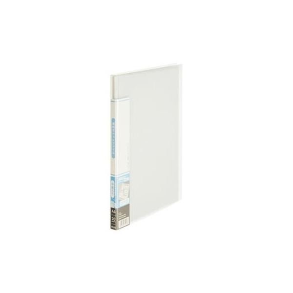 (まとめ)プラス 透明ポケットF FC-920TP 20P クリアー〔×30セット〕