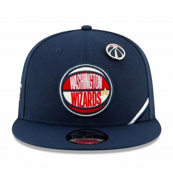 NEW ERA 9FIFTY NBA 2019 DRAFT WASHINGTON WIZARDS ニューエラ 9FIFTY NBA 2019 ドラフト ワシントン ウィザーズ NAVY/RED/WHITE 12098029|lowtex|02