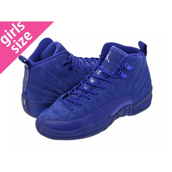 NIKE AIR JORDAN 12 RETRO BG ナイキ エア ジョーダン 12 レトロ BG DEEP ROYAL BLUE/METALLIC SILVER/WHITE