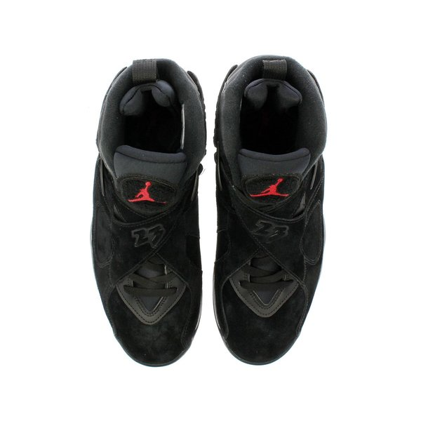 スニーカー メンズ ナイキ  エア ジョーダン 8 レトロ NIKE AIR JORDAN 8 RETRO ALTERNATE BRED BLACK/GYM RED/WOLF GREY|lowtex|02
