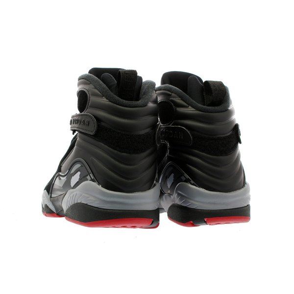 スニーカー メンズ ナイキ  エア ジョーダン 8 レトロ NIKE AIR JORDAN 8 RETRO ALTERNATE BRED BLACK/GYM RED/WOLF GREY|lowtex|03