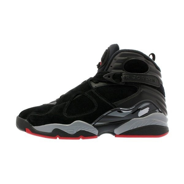 スニーカー メンズ ナイキ  エア ジョーダン 8 レトロ NIKE AIR JORDAN 8 RETRO ALTERNATE BRED BLACK/GYM RED/WOLF GREY|lowtex|04
