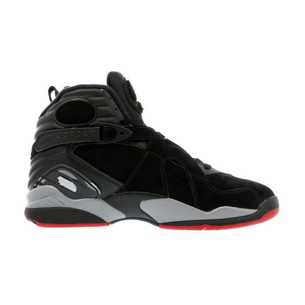 スニーカー メンズ ナイキ  エア ジョーダン 8 レトロ NIKE AIR JORDAN 8 RETRO ALTERNATE BRED BLACK/GYM RED/WOLF GREY|lowtex|05
