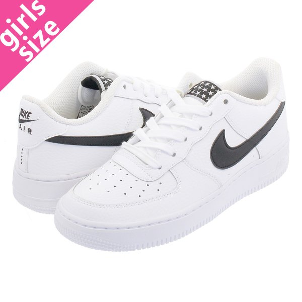 sports shoes 12b14 32835 NIKE AIR FORCE 1 LOW GS ナイキ エア フォース 1 LOW GS WHITE BLACK 314192 ...