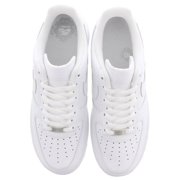 ナイキ エアフォース 1 ローオールホワイト メンズ スニーカー シューズ 靴 ローカット NIKE AIR FORCE 1 LOW WHITE 315122-111|lowtex|02