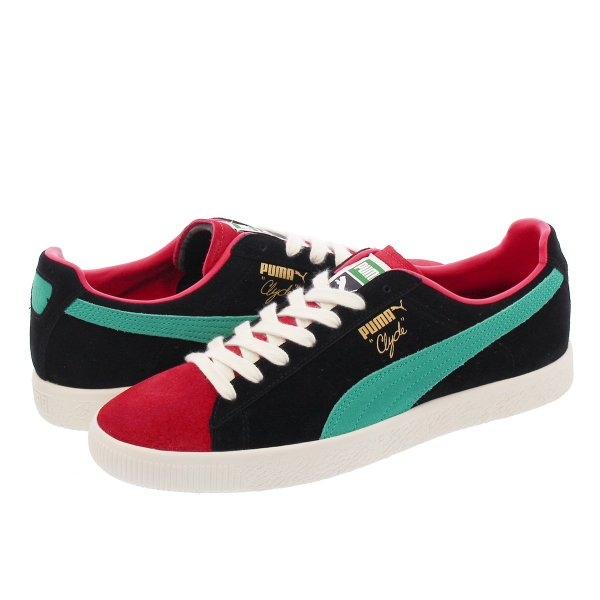 best service 94890 f1c90 PUMA CLYDE FROM THE ARCHIVE プーマ クライド フロム ザ アーカイブ HIGH RISK RED/PUMA  BLACK/WHITE 365319-03