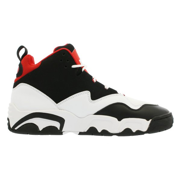 PUMA SOURCE MID プーマ ソース ミッド BLACK/WHITE/HIGH RISK RED 369829-03|lowtex|05