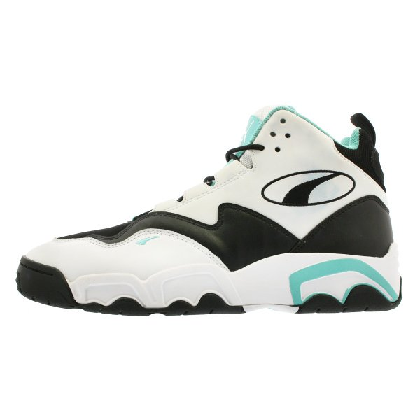 PUMA SOURCE MID プーマ ソース ミッド WHITE/BLACK/BLUE TURQUOISE 369829-04|lowtex|04