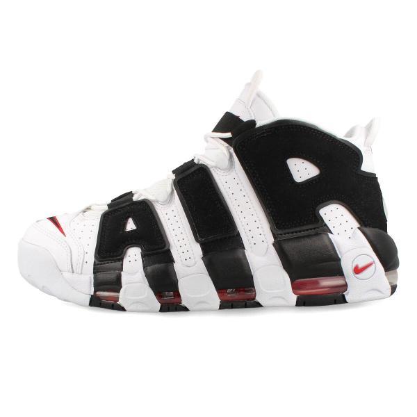 スニーカー メンズ ナイキ モア アップ テンポ NIKE AIR MORE UPTEMPO WHITE/BLACK/VARSITY RED 414962-105|lowtex|04
