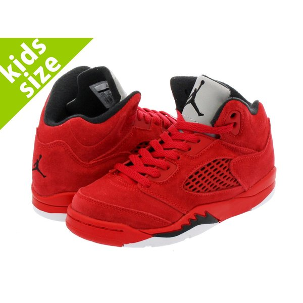 【キッズサイズ】【16-22cm】 NIKE AIR JORDAN 5 RETRO BP ナイキ エア ジョーダン 5 レトロ BP UNIVERSITY RED/BLACK/UNIVERSITY RED|lowtex