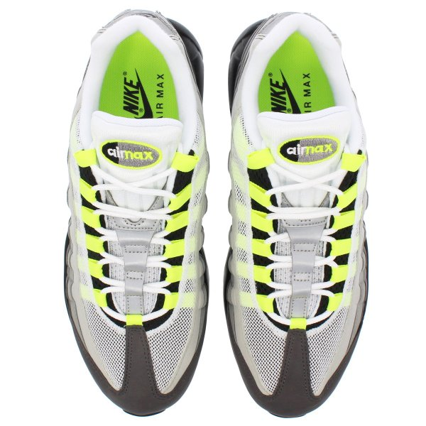 スニーカー メンズ ナイキ エアマックス 95 NIKE AIR MAX 95 OG BLACK/VOLT/MEDIUM ASH/DARK PEWTER|lowtex|02