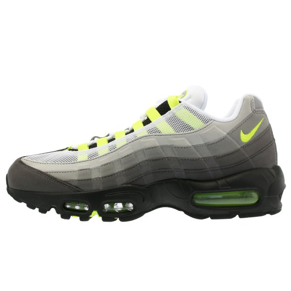 スニーカー メンズ ナイキ エアマックス 95 NIKE AIR MAX 95 OG BLACK/VOLT/MEDIUM ASH/DARK PEWTER|lowtex|04