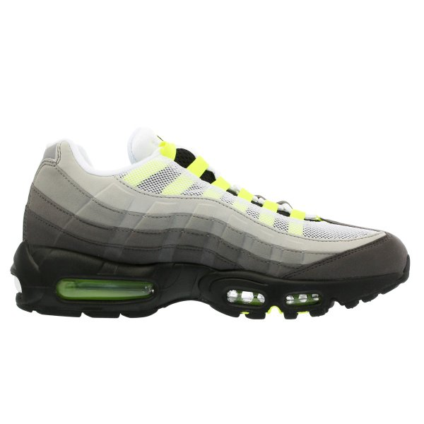 スニーカー メンズ ナイキ エアマックス 95 NIKE AIR MAX 95 OG BLACK/VOLT/MEDIUM ASH/DARK PEWTER|lowtex|05