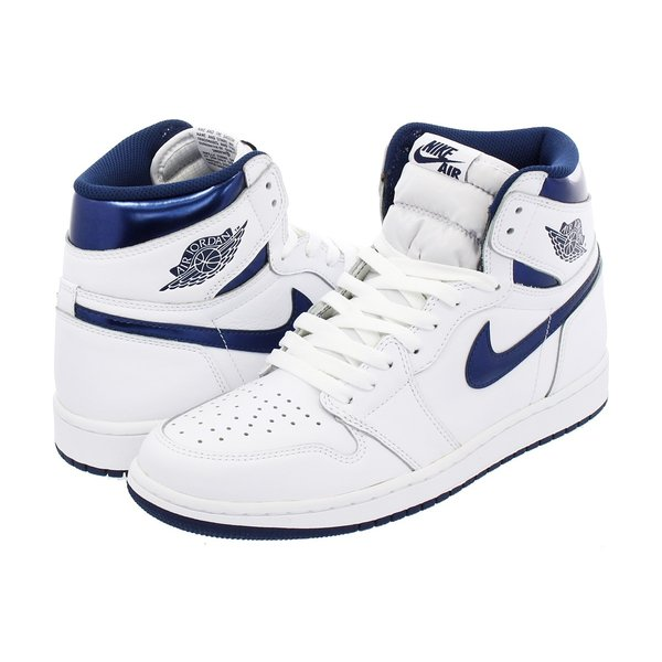 62879da51c2 NIKE AIR JORDAN 1 RETRO HIGH OG  METALLIC NAVY  ナイキ エア ジョーダン 1 レトロ ...