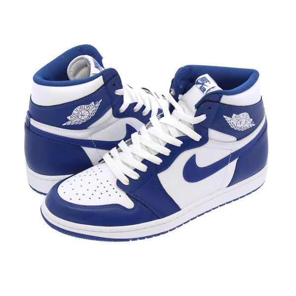 NIKE AIR JORDAN 1 RETRO HIGH OG 【STORM BLUE】 ナイキ エア ジョーダン 1 レトロ ハイ OG WHITE/STORM BLUE|lowtex